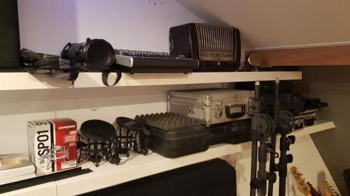 Microfoons en spullen